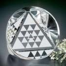 Crystal Prism Pyramid Award #6002